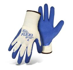 Latex/String Knit Gloves - X-Large
