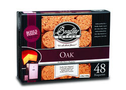 48-Pack Oak Bisquettes