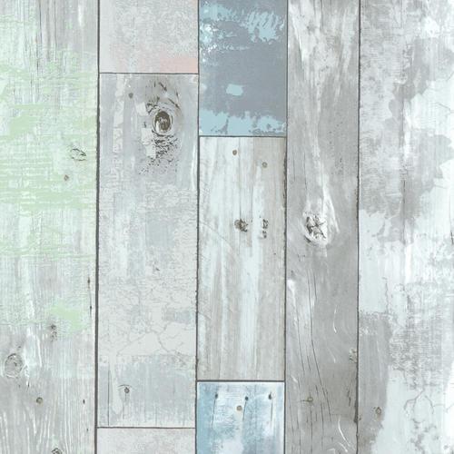 dean blue distressed wood panel wallpaper at menards