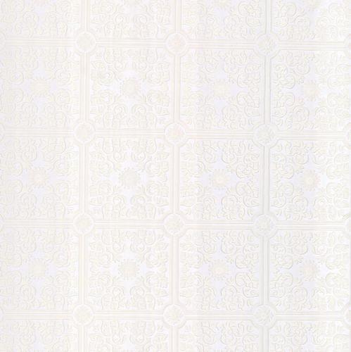 Sabrina white tin ceiling wallpaper at menards - Paintable wallpaper menards ...
