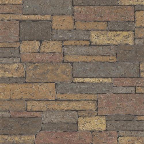 Brick rock wall wallpaper at menards - Paintable wallpaper menards ...