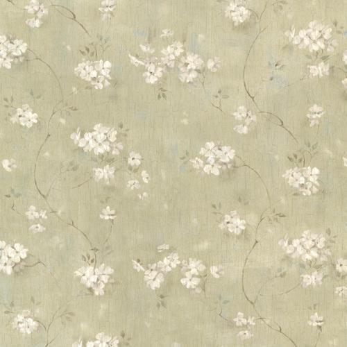 dixie green floral trail wallpaper at menards
