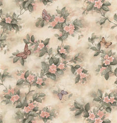 Large Floral Trail Wallpaper Roll