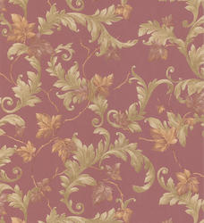 Acanthus & Vine Trail Wallpaper Roll