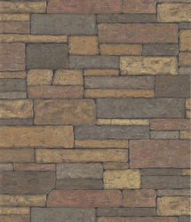 Stone Brick Wallpaper Roll