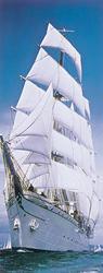 Sailing Boat Door Poster Mural