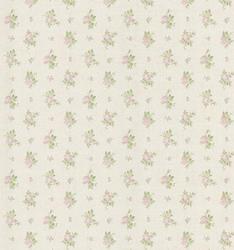 Rose Linen Print  Wallpaper Roll