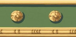 Green Decorative Wallpaper Border