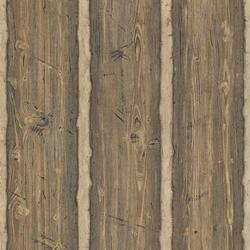Brown Rustic Wood Panel