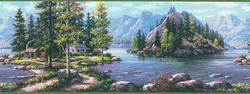 Green Mountain River Border