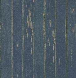 Dark Blue Vintage Wood Panel