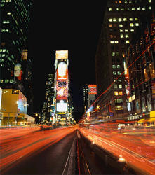 Times Square Photgraphic Panels Wall Decal