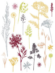 Wildflower Meadow Wall Stickers