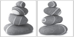 Stones Wall Stickers