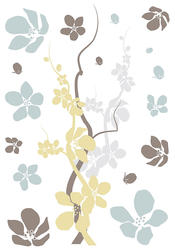 Branches & Flowers Wall Stickers