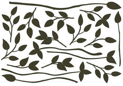 Black Branches Wall Stickers