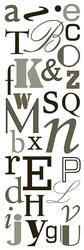 Type Wall Stickers