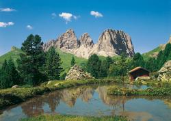 Dolomiten Mural