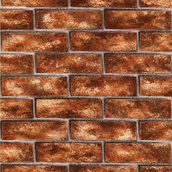 Tawny Brick Wallpaper