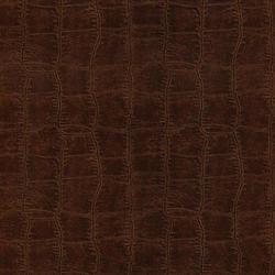 Mahogany Leather Wallpaper
