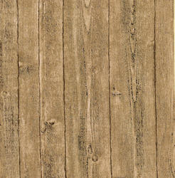 Taupe Rustic Wood Wallpaper