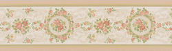 Cameo Rose Scroll Border
