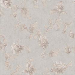 Tonal Floral Scroll Trail Wallpaper Roll