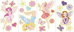 MyStyle Fairies Glow in the Dark Wall Stickers