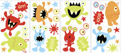 MyStyle Monsters Glow in the Dark Wall Stickers