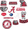 Alabama Team Logo Assortment Fathead Jr