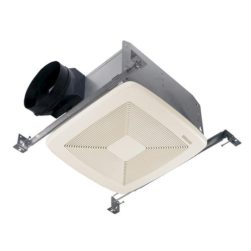 Broan qt quiet bath fan 80 cfm at menards - Broan 80 cfm bathroom fan with light ...