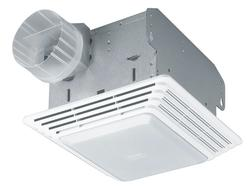 Broan® Ceiling Bath Fan with Light 70 CFM