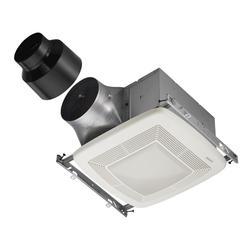 Broan® Ultra X1 Single Speed Bath Fan with Light and Night Light 50 CFM