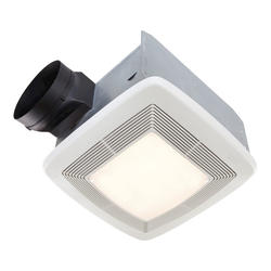 Broan® Quiet Ceiling Bath Fan with Light and Night Light 130 CFM