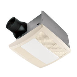 Broan® Quiet Ceiling Bath Fan with Light and Night Light 80 CFM