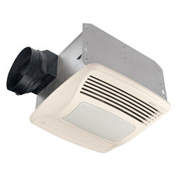 Broan® QT Quiet Fan with Humidity Sensing, Light & Nightlight