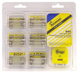 61-Piece AGC Glass Fuse Emergency Kit