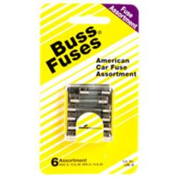 Cooper Bussmann American Cars Auto Fuse Assortment (5-Pack)