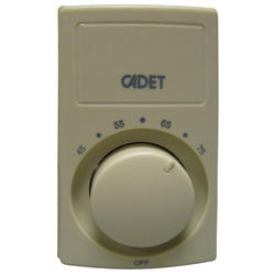 Cadet Double Pole 25 Amp Heat Anticipated Wall Thermostat