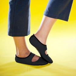 Nufoot Ladies' Black Mary Janes (Size: Large 8-11)