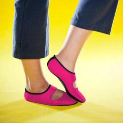 Nufoot Ladies' Hot Pink Mary Janes (Size: Medium 6-8)
