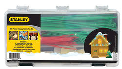 Stanley 265-Piece Holiday Cable Tie Kit