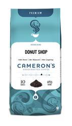 Cameron's Donut Shop Blend Ground Premium Coffee - 10 oz