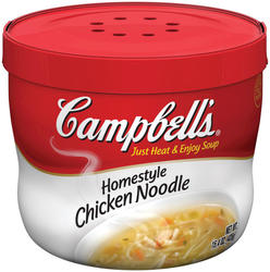 Campbells Microwaveable Homestyle Chicken Noodle Bowl