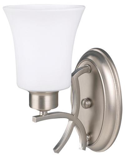 Vanity Light Bulbs Menards : Patriot Lighting Flamenco 1-Light GU24 7
