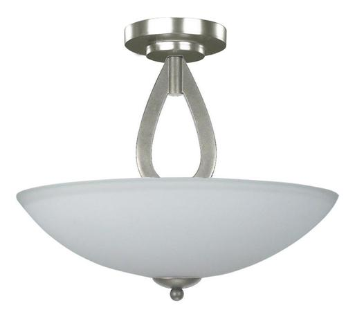 """Lamps Exciting Menards Ceiling Fans For Best Ceiling Fan: Patriot Lighting® Audrey 3 Light 15-3/4"""" Brushed Nickel"""