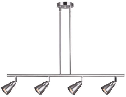Pendant Track Lighting Menards : Patriot lighting? charles brushed nickel quot light track