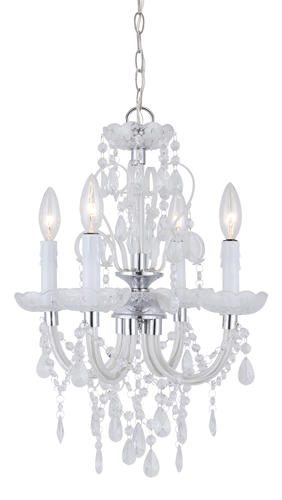 Patriot Lighting Marlene Chrome 14 1 2 4 Light Chandelier With Crystal
