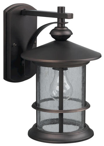Patriot Lighting Treehouse 1 Light 13 Oil Rubbed Bronze Outdoor Downli