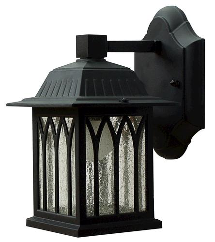 Patriot Lighting Sante Fe 1 Light 9 5 Black Outdoor Downlight At Menards